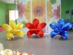 Modis Unique Flower Chairs