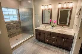 West Lafayette Contemporary Master Bathroom Remodel Riverside Construction