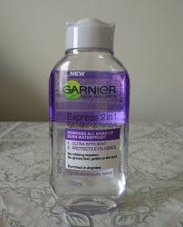 garnier express 2 in 1 eye makeup remover review