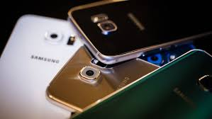 samsung galaxy s6 gold in hand. samsung galaxy s6 review: gold in hand