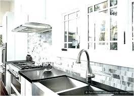black white gray linear and glass tile kitchen grey backsplash cabinets photo id item
