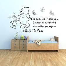 winnie the pooh wall art the pooh wall stickers 3 baby wall stickers girls boys bedroom winnie the pooh wall art