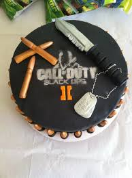 Call Duty Black Ops 2 Birthday Cake CakeCentral