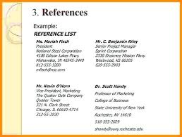Refrences On Resume References Resume Layout On A Letsdeliver Co