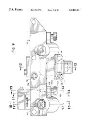 patent us5540201 engine compression braking apparatus and method patent drawing