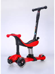 <b>Самокат</b> - трансформер <b>3</b>-колесный <b>3 в 1</b> 21 st <b>Scooter</b> Buggy ...