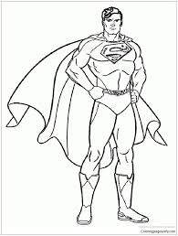 For kids & adults you can print superman or color online. Free Printable Superman Coloring Pages Coloring Pages Superman In 2020 Superhero Coloring Superhero Coloring Pages Superman Coloring Pages