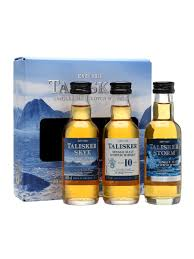 talisker miniature gift pack 3x5cl