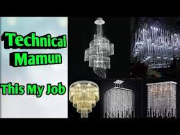 how to fixing china chandelier and amazing lightning technical mamun this my job fixing