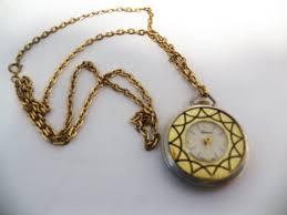 pendant wind up necklace watch lucerne