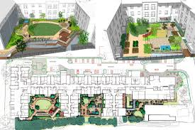 Small Picture Care and retirement homes design EA External landscaping