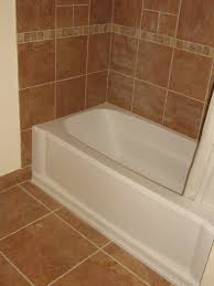 comely decorations with bathroom shower tub tile ideas fascinating bathrooms look using rectangular white bathtubs