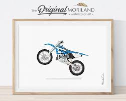 on dirt bike wall art with dirt bike print dirt bike decor motocross wall art