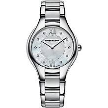 raymond weil watches ernest jones raymond weil noemia ladies stainless steel bracelet watch product number 2469057