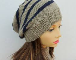 Free Slouch Hat Knitting Patterns Stunning Childs Knitted Slouchy Hat Pattern Ideas