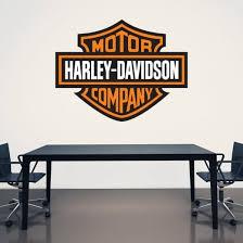 wall chimp harley davidson printed wall