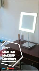 lighted makeup mirror reviews portable led lighted tabletop