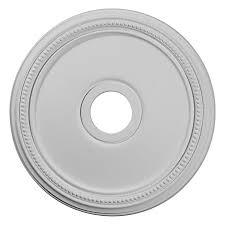 ekena millwork diane 18 in x 18 in polyurethane ceiling medallion