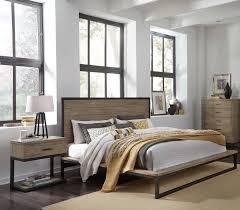standard furniture edgewood 2pc bedroom set with queen platform bed