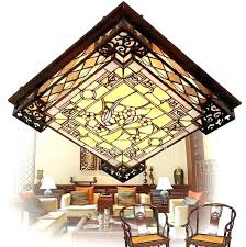 tiffany ceiling light ceiling light shade vintage stained glass shade ceiling lights flush red jewel pendant