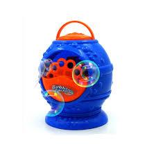 new arrival basket type electronic automatic bubble machine blue color plastic bubble er soap