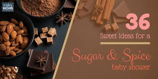 Sugar And Spice Baby Shower Favors