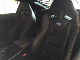 Ford Performance Mustang Recaro Seats M-63660005-ME (15-17 All ...