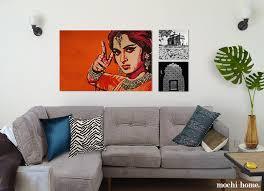020 living room art white