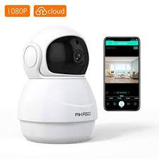 Amazon.com : Wireless Security Camera 1080P WiFi IP - AKASO HD Baby ...