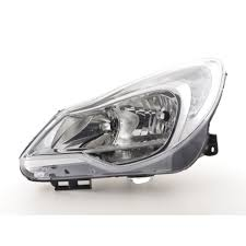 Spare Parts Headlight Left Opel Corsa D Year From 2011