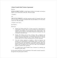 Real Estate Joint Venture Agreement Pdf Best Of Business Investment ...