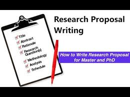 Project Proposal Outline Project Proposal Template Research Proposal