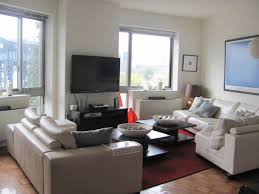 Living Room Furniture Long Island Compact Long Island City Apartment Interior Design In Open Plan