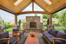 outdoor stone fireplace cost new patios ideas covered patio ideas with firepla covered patio with