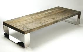... Reclaimed Wood And Metal Square Coffee Table Metal Reclaimed Wood  Coffee Table Square Large Square Reclaimed ...