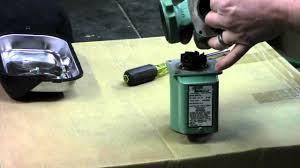 taco 007 circulator pump repair youtube taco 00 series cartridge circulator at Taco Cartridge Circulator Wiring Diagram