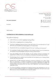 Company Referral Letter Inspiration Colin Smith And Company Referral Letter