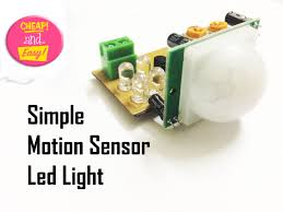 make an simple motion sensor light pir 13 steps pictures
