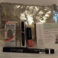 metallic foil makeup bag cosmetics 6 piece makeup bundle 1 sephora makeup