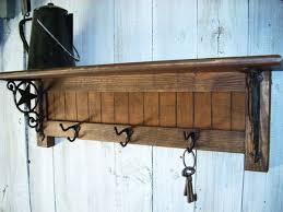 perchero coat rack shelf diy coat