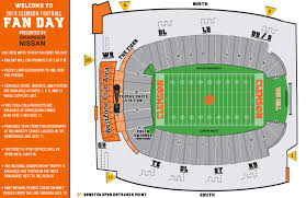 2019 Football Fan Day Is Aug 11 Clemson Tigers Official