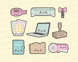 Premium Vector Clipart - <b>Kawaii</b> Planning Clipart - <b>Kawaii</b> Planner ...