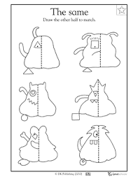f5804962db4f0edf4828f029c032f570 our 5 favorite prek math worksheets a line, mirror image and on instructions worksheet ks1