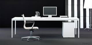Impressive Cool Idea Long White Desk Home Designing With Regard To Long  White Desk Ordinary