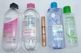 best makeup removers part 1 micellar waters test review
