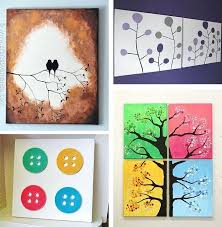 >decoration diy canvas wall art projects diy art on canvas diy canvas wall art projects