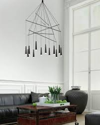 contemporary italian lighting. designer filippo mambretti of mambr design studio has created mikado a pendant chandelier for italian lighting brand morosini contemporary