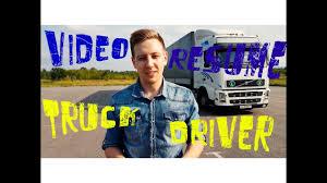 Resume Truck Driver Canada Резюме Дальнобойщика Youtube