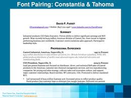 40 Resume Fonts Designers Love Awesome Fonts For Resume