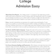 Example Of Personal Essays Narrative Free Personal Essays About With